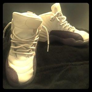 Girl's Air Jordan Retro 12 Basketball Shoes